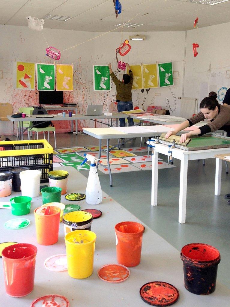 Workshop avec Nicole Crême